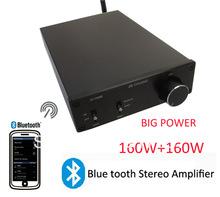 Усилитель мощности 160Вт+160Вт класс D Bluetooth