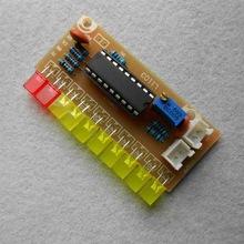 LM3915 светодиодный индикатор уровня аудио сигнала
